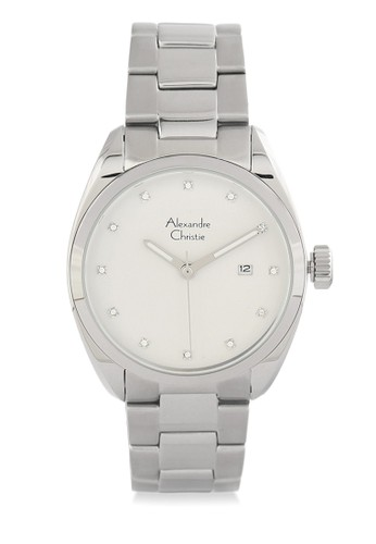 Alexandre Christie silver Alexandre Christie Jam Tangan Pria - Silver White - Stainless Steel - 8534 Silver White Man AL709AC0W8ZRID_1
