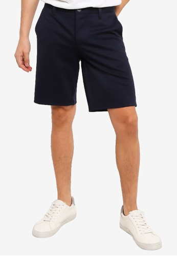 Only & Sons navy Mark Shorts 2F0E8AA1189F34GS_1