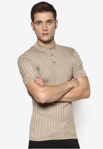 羅紋貼身POLOesprit台灣官網 衫, 服飾, Polo衫