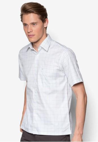 Armodinno 格紋短esprit hong kong袖襯衫, 服飾, 短袖襯衫