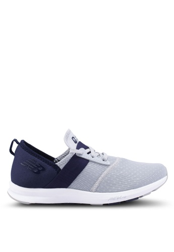 New Balance silver and navy Energize Performance Shoes 90239SHCC841E5GS_1