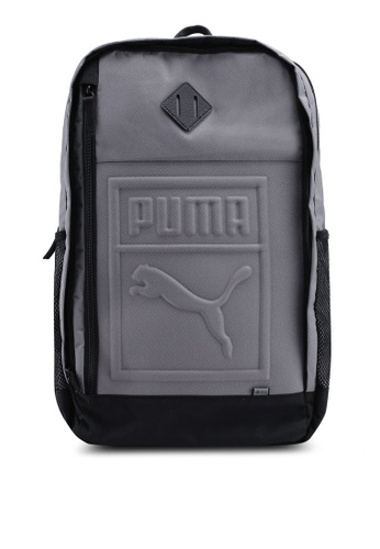 Puma grey Core S Backpack AB703AC6C2DC26GS_1
