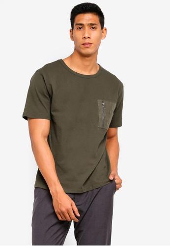 Sparrow Green 綠色 Armoury 寬鬆T恤 86A7EAADC15547GS_1