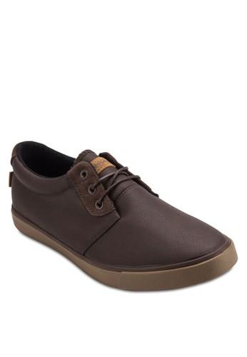 Kudo 繫帶仿皮運動鞋, 鞋,zalora 包包評價 鞋