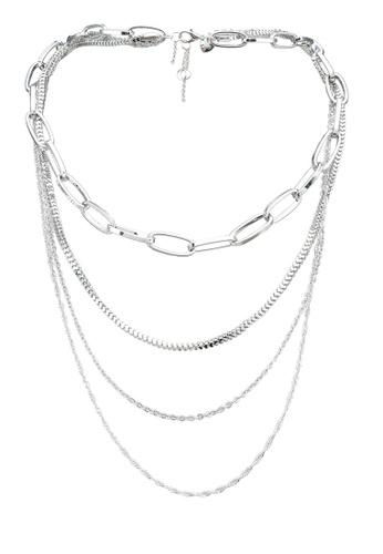 ALDO silver Eoweiniel Necklace 96C8EAC1E2F806GS_1