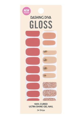 Dashing Diva pink Dashing Diva Gloss Gel Strip Manicure  Sweet Sweet /Nail Sticker /Nail Wraps 89FE9BE0727ACFGS_1
