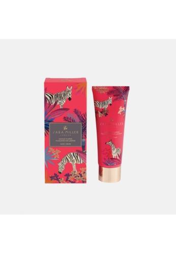 Sara Miller pink Sara Miller London 75ml Zebra Hand Cream - Orange Flower, Frangipani & Jasmine (FG8430) 3A0C6BEC7A453FGS_1