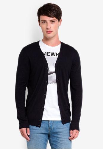 OVS 黑色 縲縈罩衫 C7AF8AA2F7FE83GS_1