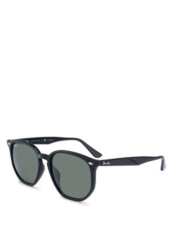 Ray-Ban black Ray-Ban RB4306F Sunglasses AAEFBGLD92E000GS_1