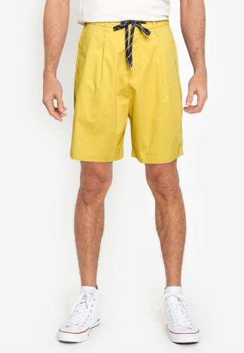 niko and ... yellow MENS SHORT PANTS 53939AAB235A5CGS_1