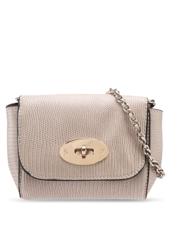 Dorothy Perkins beige Neutral Mini Iconic Crossbody Bag 94CCBAC322B7BDGS_1