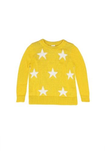 GAP yellow V-Star Sweater AE48DKAA37965DGS_1