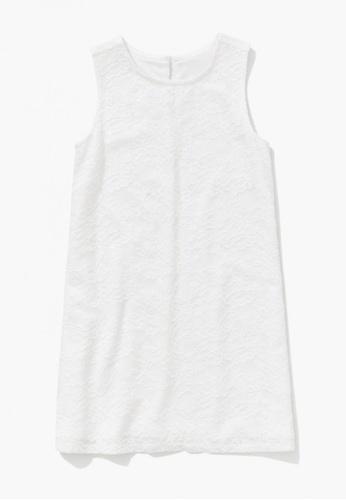 FOREVER 21 white Floral Lace Dress 632C2KA8AB5D55GS_1