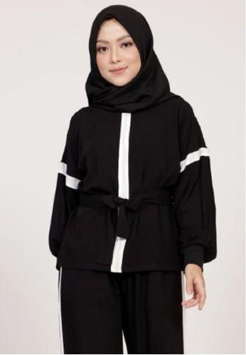 ZAHRA SIGNATURE black Blouse Oversized Lisa B5F17AA164E168GS_1