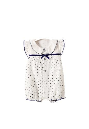 NWT Girls Blue White Striped Sleeveless Romper 9 Months