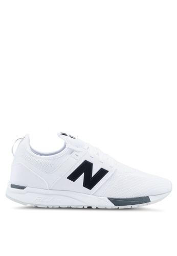 New Balance white 247 Lifestyle Sneakers NE323SH0SW9KMY_1