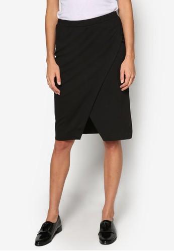 裹飾及膝短esprit outlet 香港裙, 服飾, 裙子