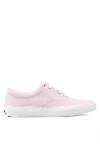Keds 粉紅色 Anchor Chambray 運動鞋 KE942SH0STEYMY_1