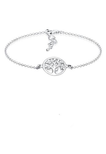Elli Germany silver Coin Tree Of Life 925 Silver Bracelet EL474AC0S1ZCMY_1