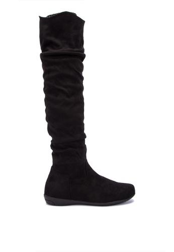S&H black Avery Boots 0C9D6SH4CA4ED3GS_1