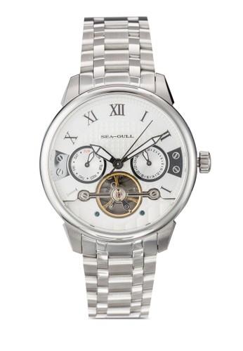 816.414 ST2579 41mm 不銹鋼機械鍊錶, 錶類, 飾品配esprit 高雄件