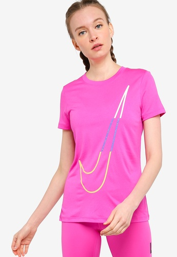 Nike pink Dri-FIT Legend Icon Clash Short Sleeve T-Shirt EDCCAAAE82BCA6GS_1