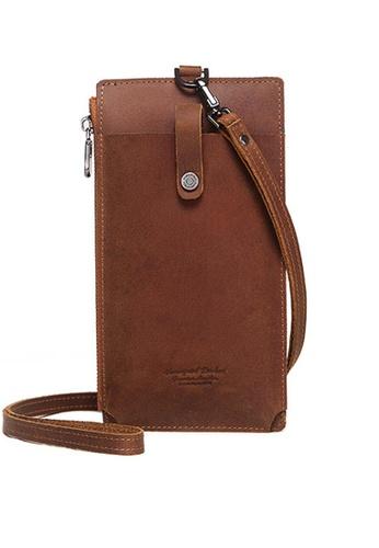 Twenty Eight Shoes Zip Buckle Leather Phone Bag BP-DG1009 27530AC0569976GS_1