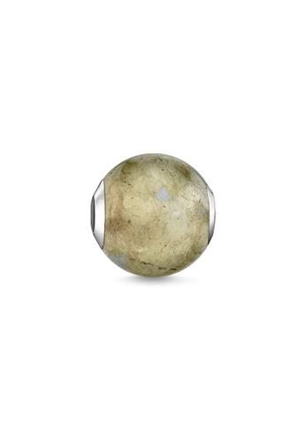 """THOMAS SABO grey Bead """"labradorite"""" 03A5EAC50EF5EBGS_1"""