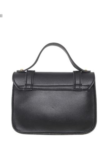 Verchini black Verchini Small Top Handle Sling Bag 0F0F6ACDB62A84GS_1