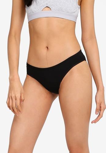 Cotton On Body black Cotton Comfies Cheeky Bikini Brief 09065USCC936A1GS_1