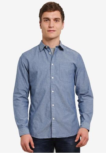 Selected Homme blue Honeset Shirt SE364AA0S42OMY_1