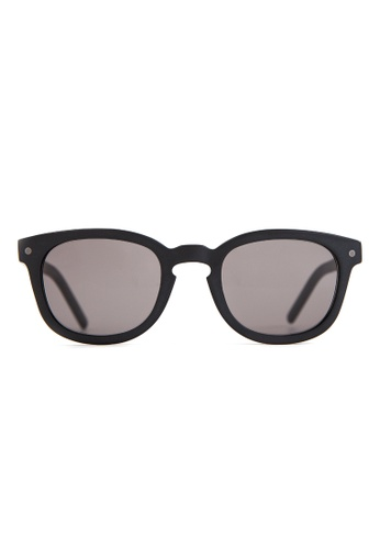 Marshall Eyewear black and grey Robert Matte Black MA266AC55OWYSG_1