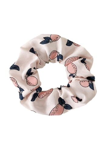 Kings Collection pink White Pink Pear Scrunchy (HA20047) C4220AC4D8CEE8GS_1