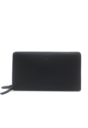 Goldlion black Goldlion Leather Clutch with Hand Strap (Black) C86C3AC7A0B2AFGS_1