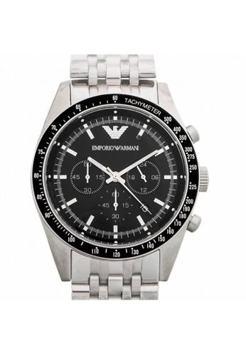 Emporio Armani [NEW] Emporio Armani Sport Black Dial Quartz Men's Watch AR5988 AD739AC13B9124GS_1