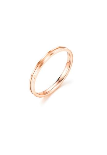 ADORA gold Stainless Steel Rose Gold Ring 48E0DAC5D855B9GS_1
