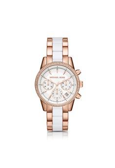 Ritz三眼計時腕錶