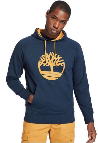 Timberland blue Timberland Men Print Tree Logo Hoodie Sapphire-TB0A2577433 CDA3DAAC1D6825GS_1
