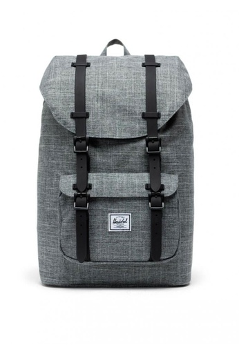 Herschel grey Little America Mid Backpack 9DC04AC813753AGS_1