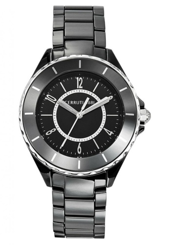 CERRUTI 1881 black Black Ceramic Men Watch CE514AC89QMOMY_1