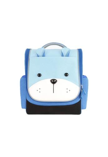 Nohoo blue Nohoo Kids Backpack Smart Bear (Blue) F3CFBKC0BF3566GS_1