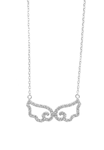 The LoveMark silver Ponder Silver Earrings and Necklace TH516AC42AQBPH_1