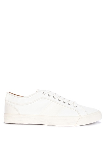 Topman white White Spade Trainers D1BECSH1466442GS_1