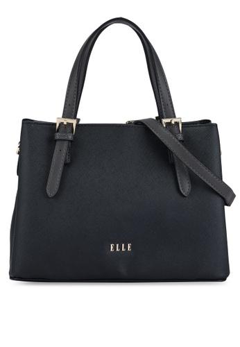 ELLE black Iris Medium Carry Bag D17F6AC1B5AB16GS_1