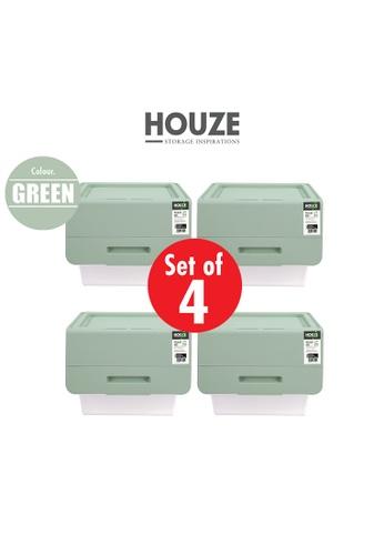 HOUZE green [SET OF 4] HOUZE 35L Pelican Box - Green A260BHL88C8CC3GS_1