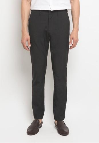 The Executive grey Slim Fit Long Pants FBBA9AA32D7D6DGS_1