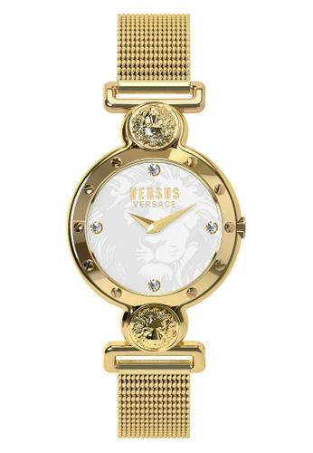 Versus gold Versus Versace Sunnyridge Mesh Band Gold Women Watch VESOL090016 VE464AC0SZGPMY_1
