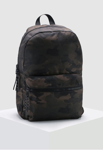 7cd7c2b749 Banana Republic green Water Color Camo Nylon Backpack AAC08AC9BE8155GS 1