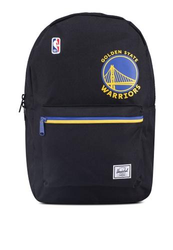 Herschel black Settlement Backpack (Golden State Warriors) 7D2DEAC6DC423DGS_1