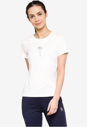 361° white Sports Life Short Sleeve T-shirt 98C90AA20F7843GS_1